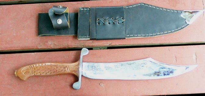 special cherokee rose knife
