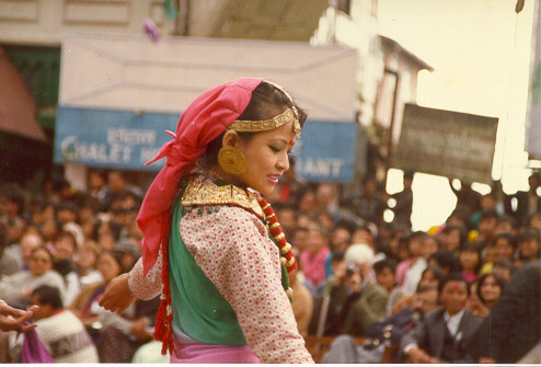 Gorkha Girl Dancing