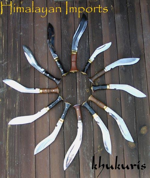 stephen see's khukuri clock