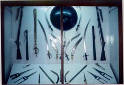 Khukuri and other blades in the Nation Museum of Nepal